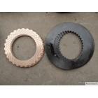 friction plate for motor grader